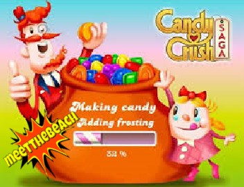 Play Candy Crush at meetthebeach.com