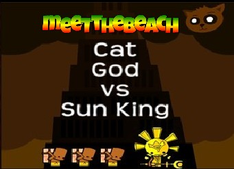 "Play ""Cat God vs Sun King"" at Tampa Bays Best Website"